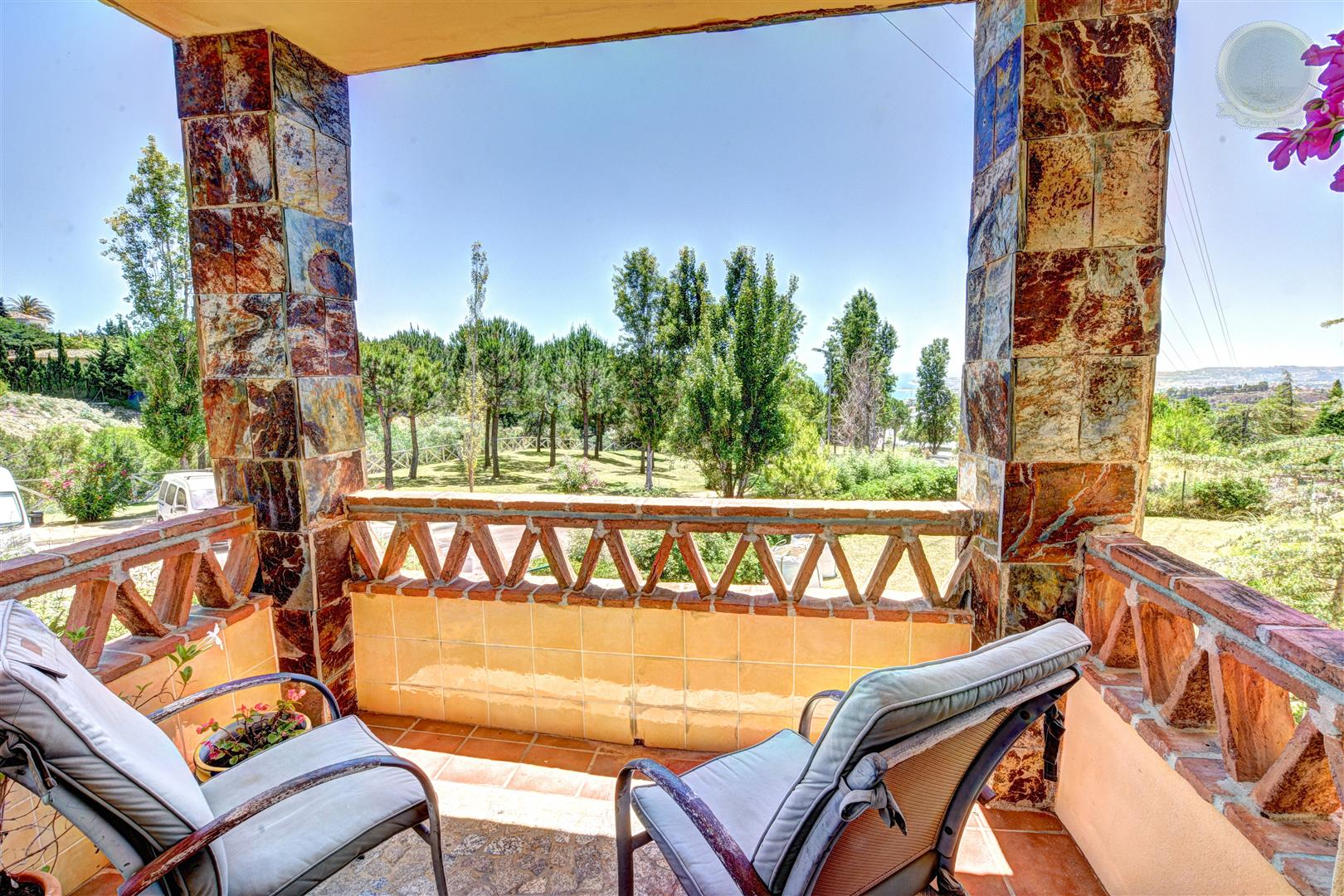 Apartment for sale in Reserva del Higueron - terrace view