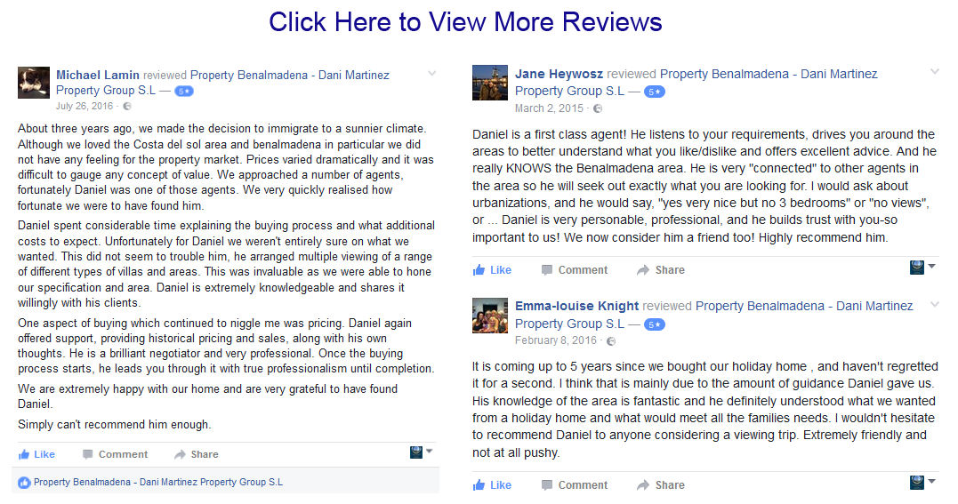 Reviews for PropertyBenalmadena