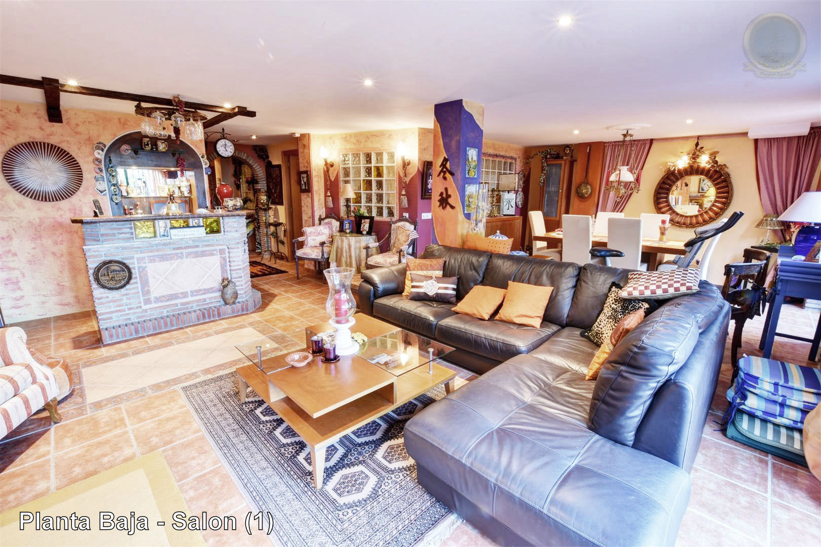villa for sale in Benalmadena Pueblo - View of Second Lounge