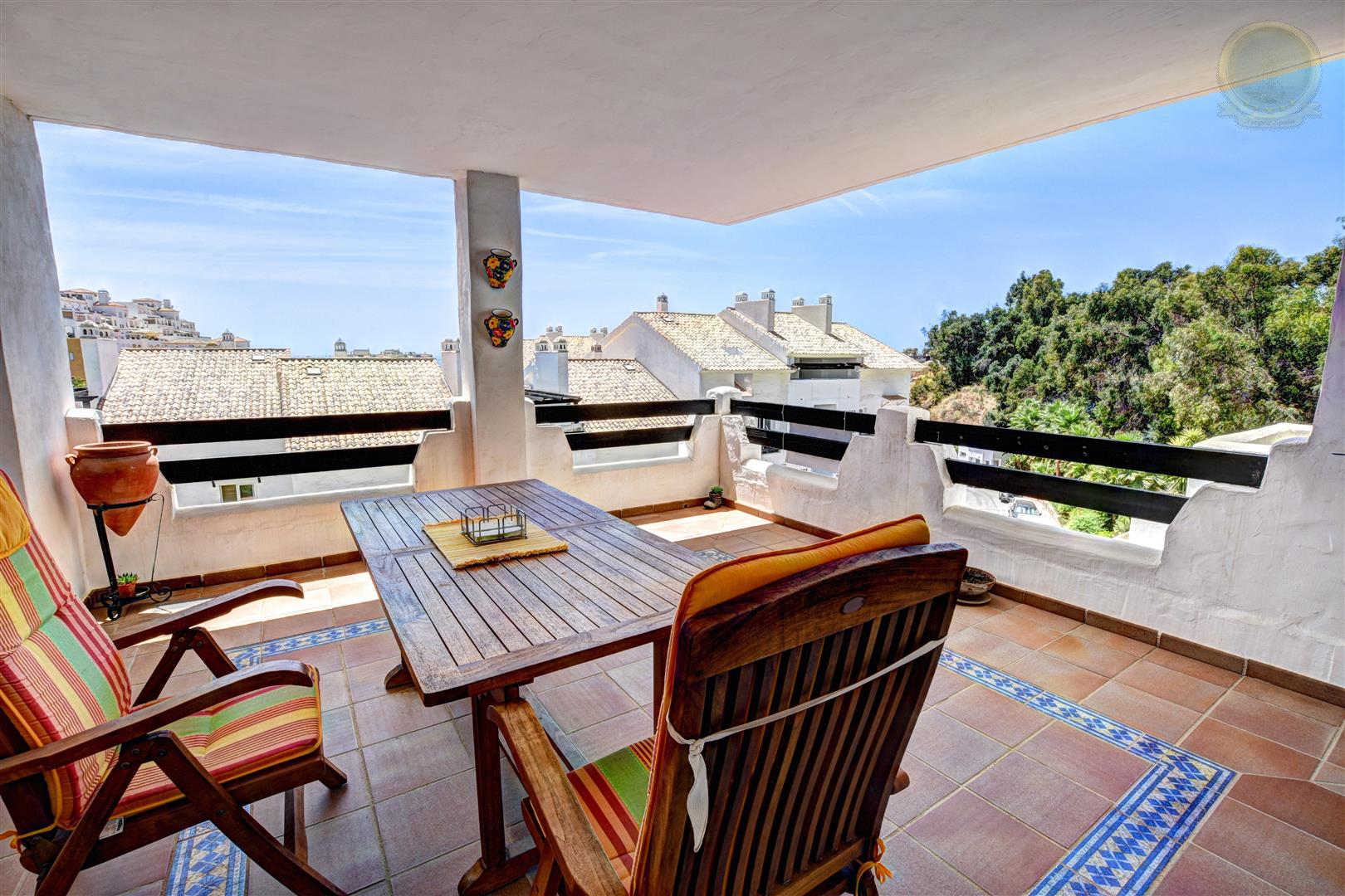 apartment for sale in Atalaya Golf Torrequebrada terrace
