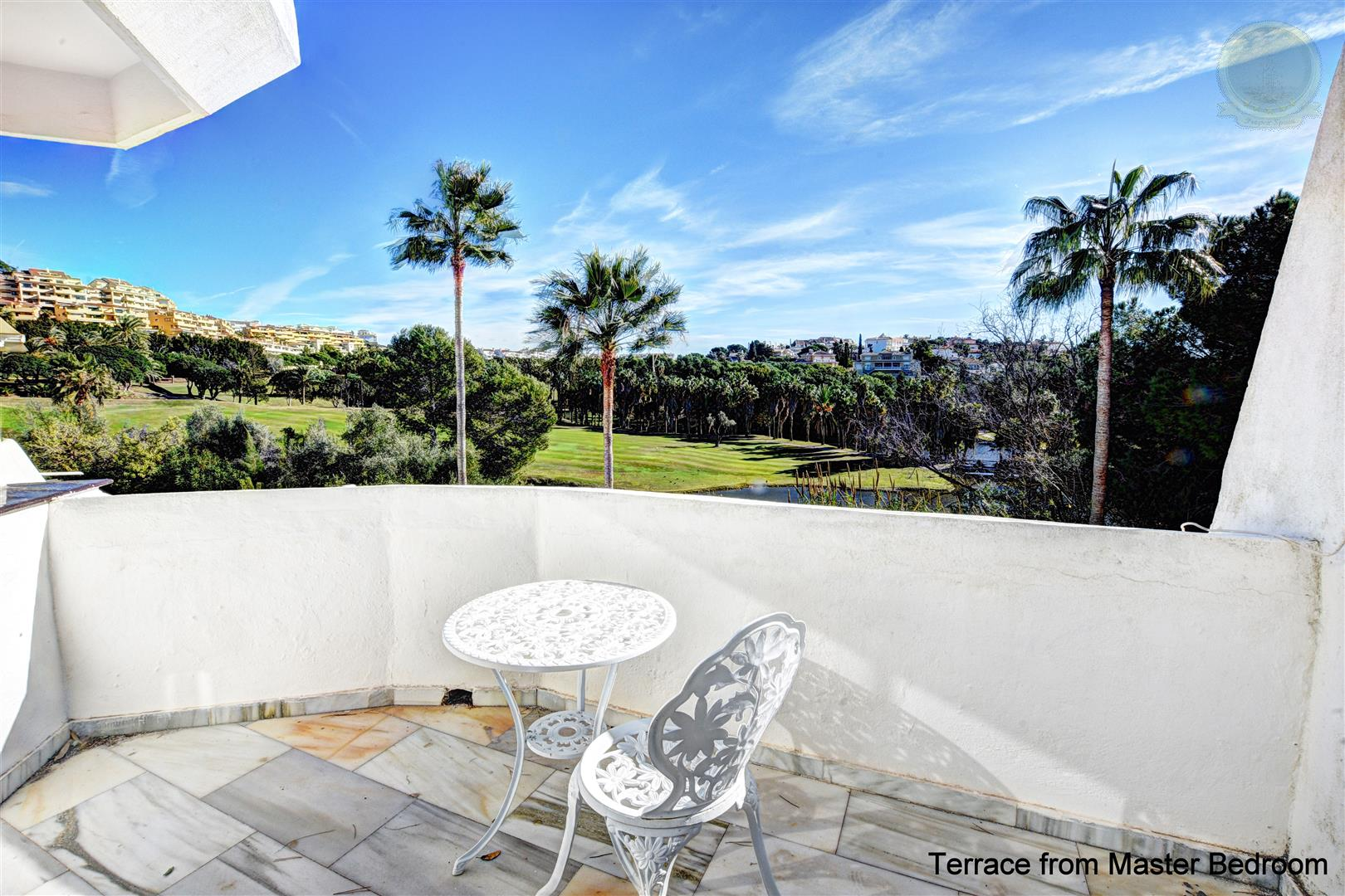 house for sale in Torrequebrada large terrace view