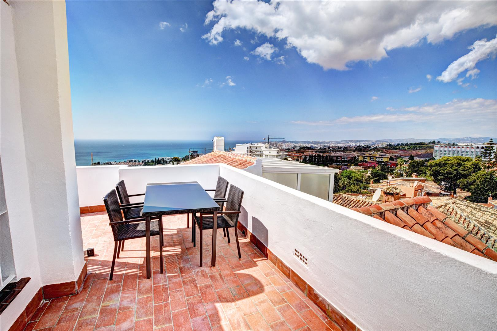 townhouse for sale in Benalmadena - terrace